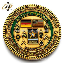 New cheap custom metal made own design challenge coin