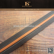 Wholesale europe standard colorful polyester Hot sale lady pu belts