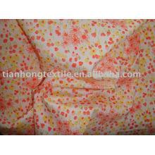 Robe 100 % coton popeline tissu d'impression