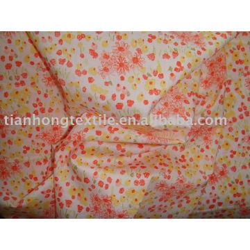 100% algodón vestido paño tela del popelín de impresión