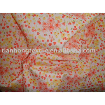 100% algodão vestido pano da impressão da tela do Poplin