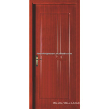 Lujo solo madera tallada puerta Villa, Hotel puerta de madera