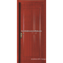 Luxury Single Wood Carved Door For Villa, Hotel Wooden Door