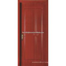 Luxo solteiro madeira esculpida porta para Villa, o Hotel porta de madeira