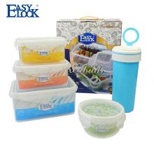 Shantou logo print conjunto de recipiente de armazenamento de alimentos