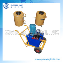 Stone Block Pushing Tools Hydraulic RAM for Quarrying