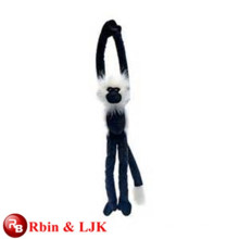 OEM soft ICTI plush toy factory plush brave monkey toy with long legs
