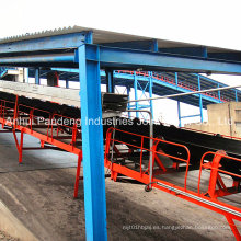 Sistema transportador / sistema transportador de correa / transportador de correa para el puerto