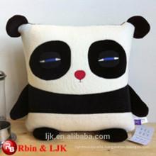 Funny comfortable custom design Panda emoji pillows