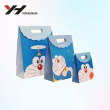 2018 оптовая мода мультфильм doraemon recyclable картон бумажный мешок конфеты