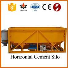 Mini silo de cimento móvel horizontal