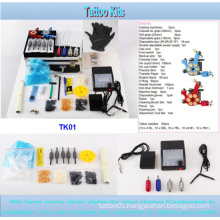 Hot Sale Cheap Professional Tattoo Kit with 2 Gun Tk01