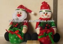 Christmas decoration bag, christmas sugar bag, santa candy bag, snowman candies bag