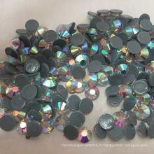 Ss20 Crystal Ab Strass Hot Fix pour les accessoires de vêtement