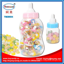 Plastic Feeding Bottle Toy with Jellybean