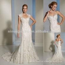 Calção de corset funcional e cintas removíveis vestido de noiva