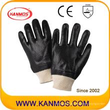 Schwarz Anti-Solvent PVC getaucht Industrial Safety Arbeitshandschuhe (51203R)