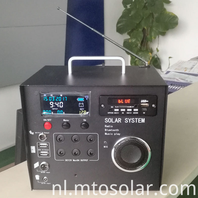 solar power home radio depot