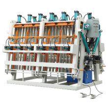 Compositeur hydraulique du travail du bois avec le type de mouvement de la piste