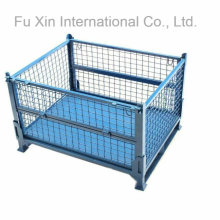 European Type Collapsible Mesh Storage Pallet Container
