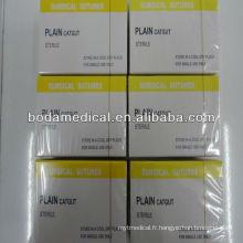 Paquet de suture jetable à usage unique