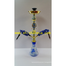 Colorful Top Quality Zinc Alloy Nargile Smoking Pipe Shisha Hookah