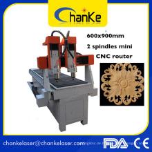 Mini CNC Drehmaschine für Metall und Glas Holz Ck6090