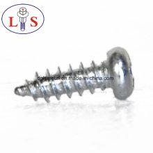 Tornillos de cabeza cilíndrica de acero al carbono con recubrimiento de zinc