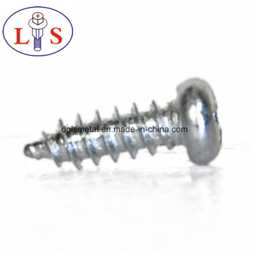 Carbon Steel Pan Head Screws with Zinc Plated
