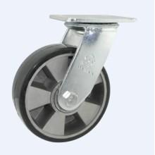H17 Heavy Duty Type Double Ball Bearing Swivel Type PU on Aluminum Core Wheel Caster