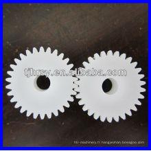 Plastique OEM / engrenage POM 0,6, module 0,8,1