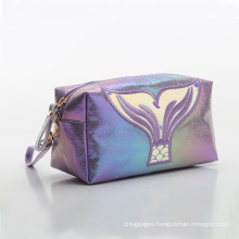 Portable Travel Pouch Makeup Brush Holder PU Women Cosmetic Bag Case Beauty Makeup Bag Zipper Closure