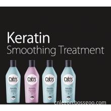 Cab's Professional Salon Use Keratin Straightening Cream Hair Treatment