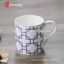Quantité minimum de commande minimale Tasse en céramique Tasse de voyage en céramique