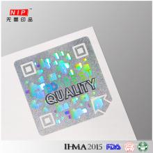 Oferta de ações personalizadas etiquetas de autenticação do holograma de segurança