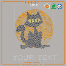 Black Cat Your Text heat transfer wholesale designs