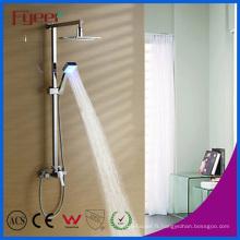 Ensemble de douche de pluie de pluie de LED de salle de bains montée par mur de Fyeer (QH336F)