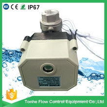 2 Way Dn15 12V 24V Stainless Steel Motorised Motorized Electric Ball Valve 1/2