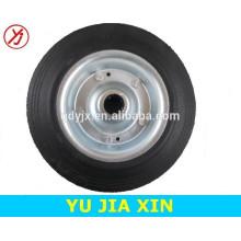 rueda sólida de goma en polvo de 8x2 pulgadas
