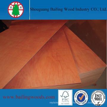 El mejor precio comercial de madera contrachapada de China