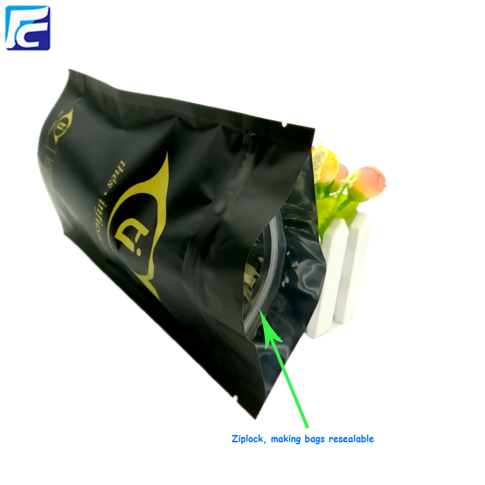 Aluminum foil packaging bag for food