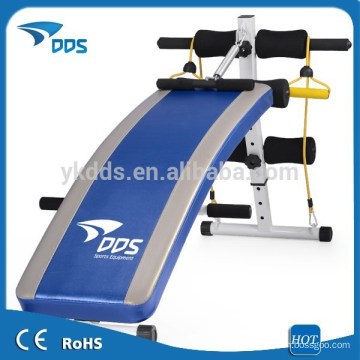 Abdominal exercise fitness sit up foldable bench