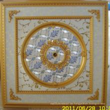Burgund & Gilt Bracade Dekorative Künstlerische Decke Dl-1114-13