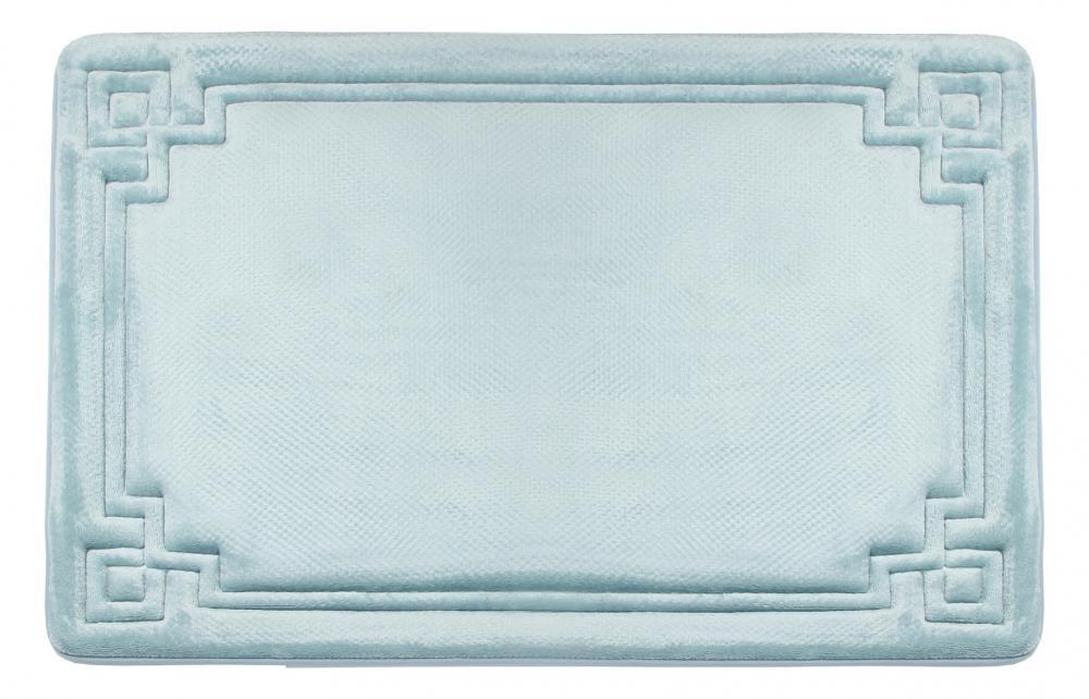 Memory Foam Bath Mat Blue