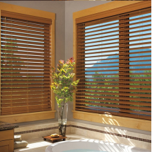 interior wood style blinds
