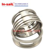 Edelstahl- und Aluminiumpräzision bearbeitete Teil-Hersteller China maschinell