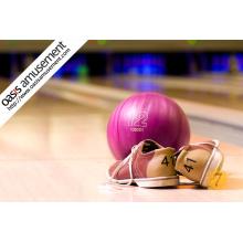 Pinos de bowling, bolas de bowling, sapatas de bowling
