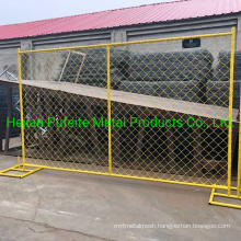 Construction 6′x12′ Heavy Duty Temporary Fence Panels for Sale