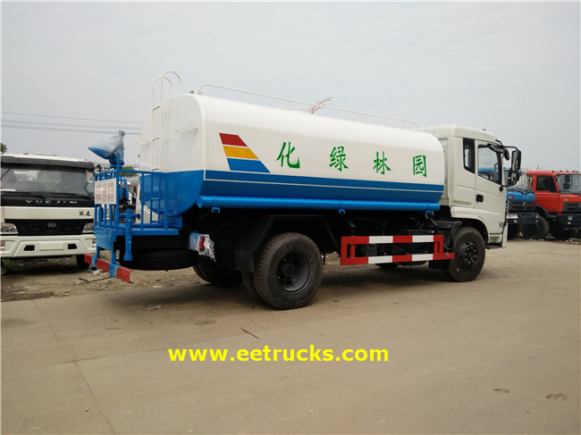 4x2 2600 Gallon Steel Water Tankers