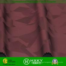 Polyester gewebter Jacquard Stoff mit Gestrick für Bekleidung